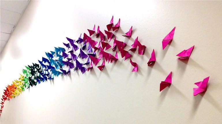 origami-kelebek