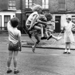 Girls Jump Rope In Zennor Road, London, 1960s