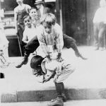 Kids Play In The Street, New York, 1900s